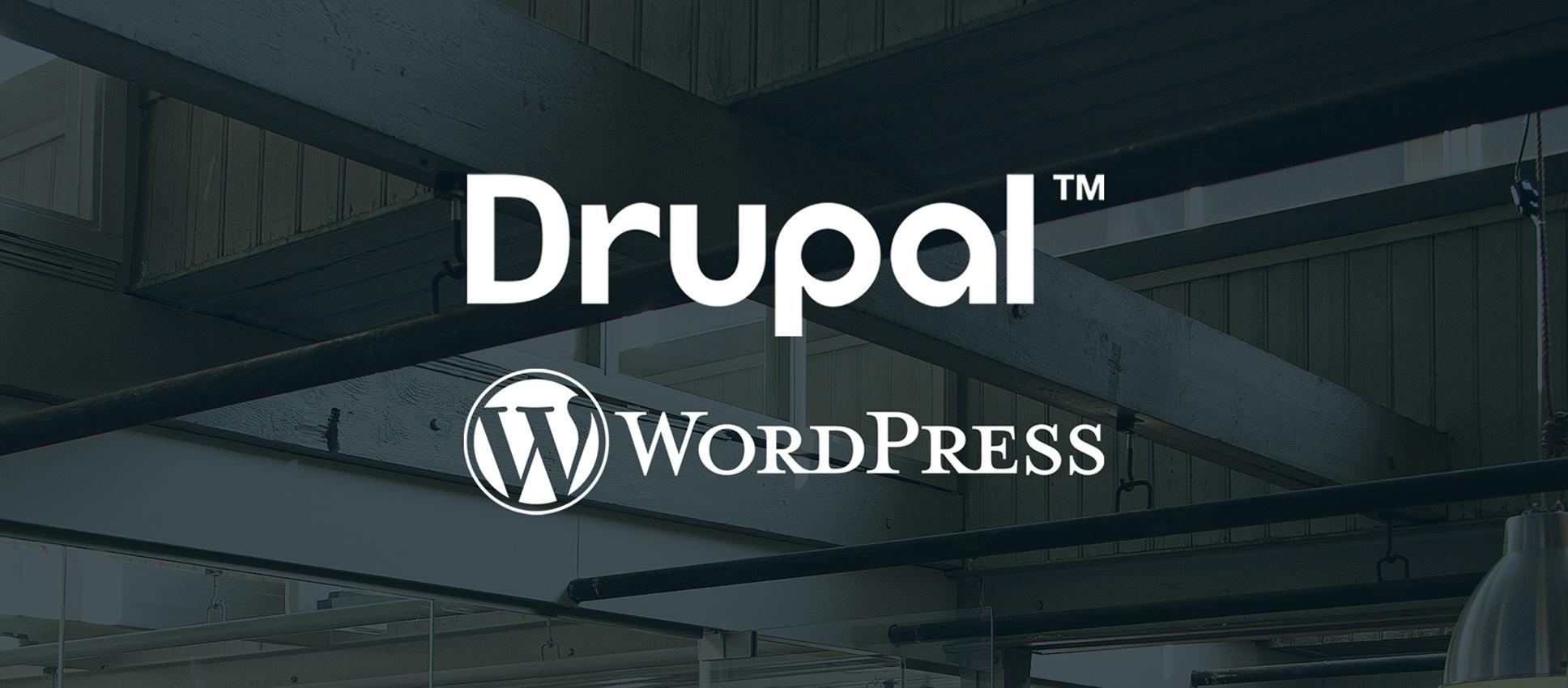 Wat is beter: Drupal of WordPress?